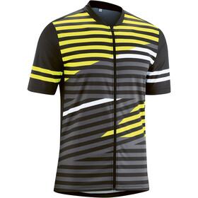 Gonso Agno Full-Zip SS Bike Shirt Men black